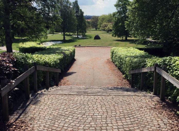 Indgang til Åby bypark