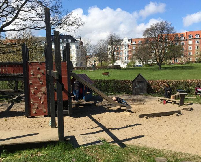 Legeplads i Skanseparken Aarhus Midtby