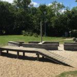 legeplads for børn Bellevue strand
