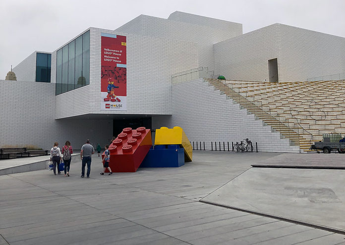Lego house indgang
