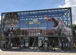 Randers Regnskov hovedindgang
