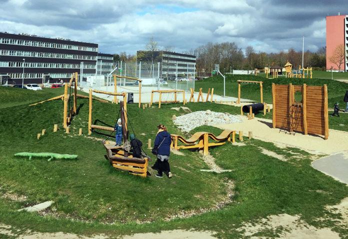 Skovgårdsparkens legeplads