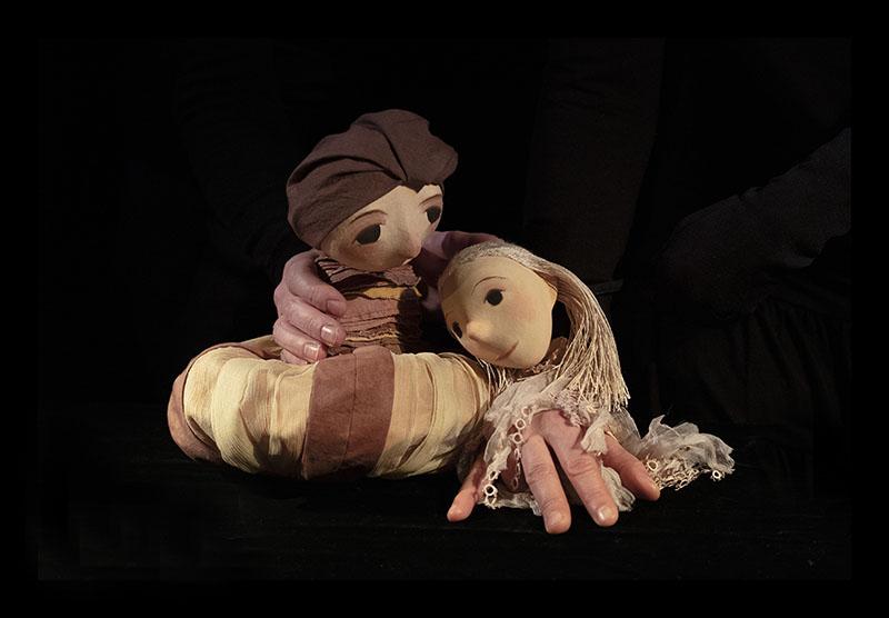 Teater Refleksions romeo og Julie dukketeater