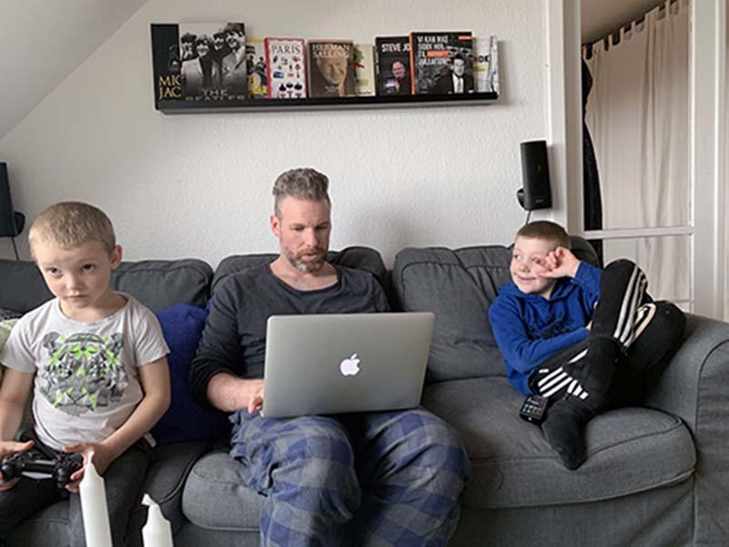 Michael, Oliver og Sebastian fra Børnenes Aarhus